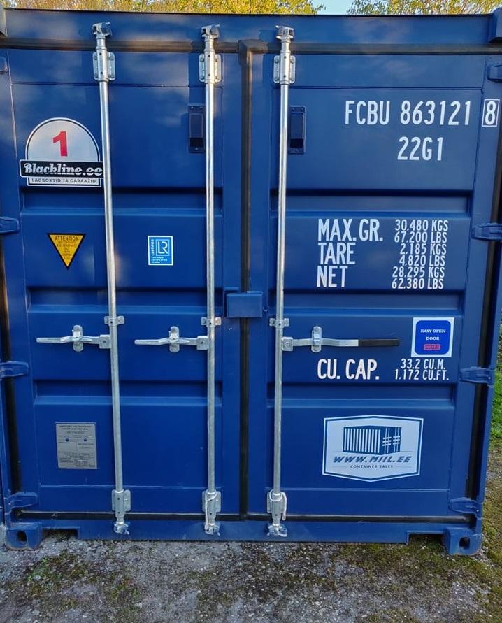 Uus konteinerladu NR 1 — FCBU8631218