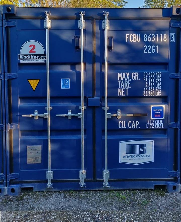 Uus konteinerladu NR 2 – FCBU8631183