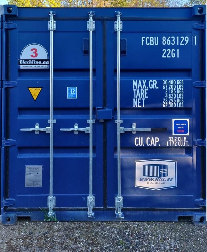 Uus konteinerladu NR 3 FCBU8631291