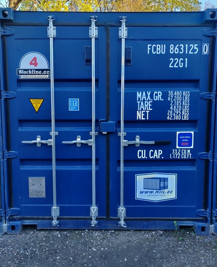 Uus konteinerladu NR 4 FCBU8631250