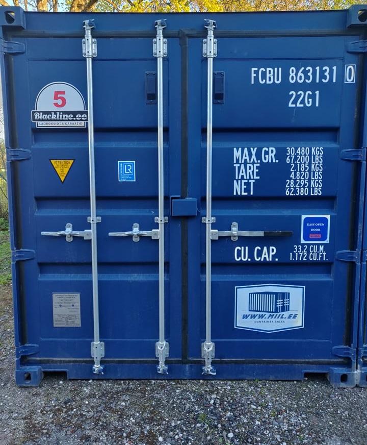 Uus konteinerladu Nr. 5 – FCBU8631310