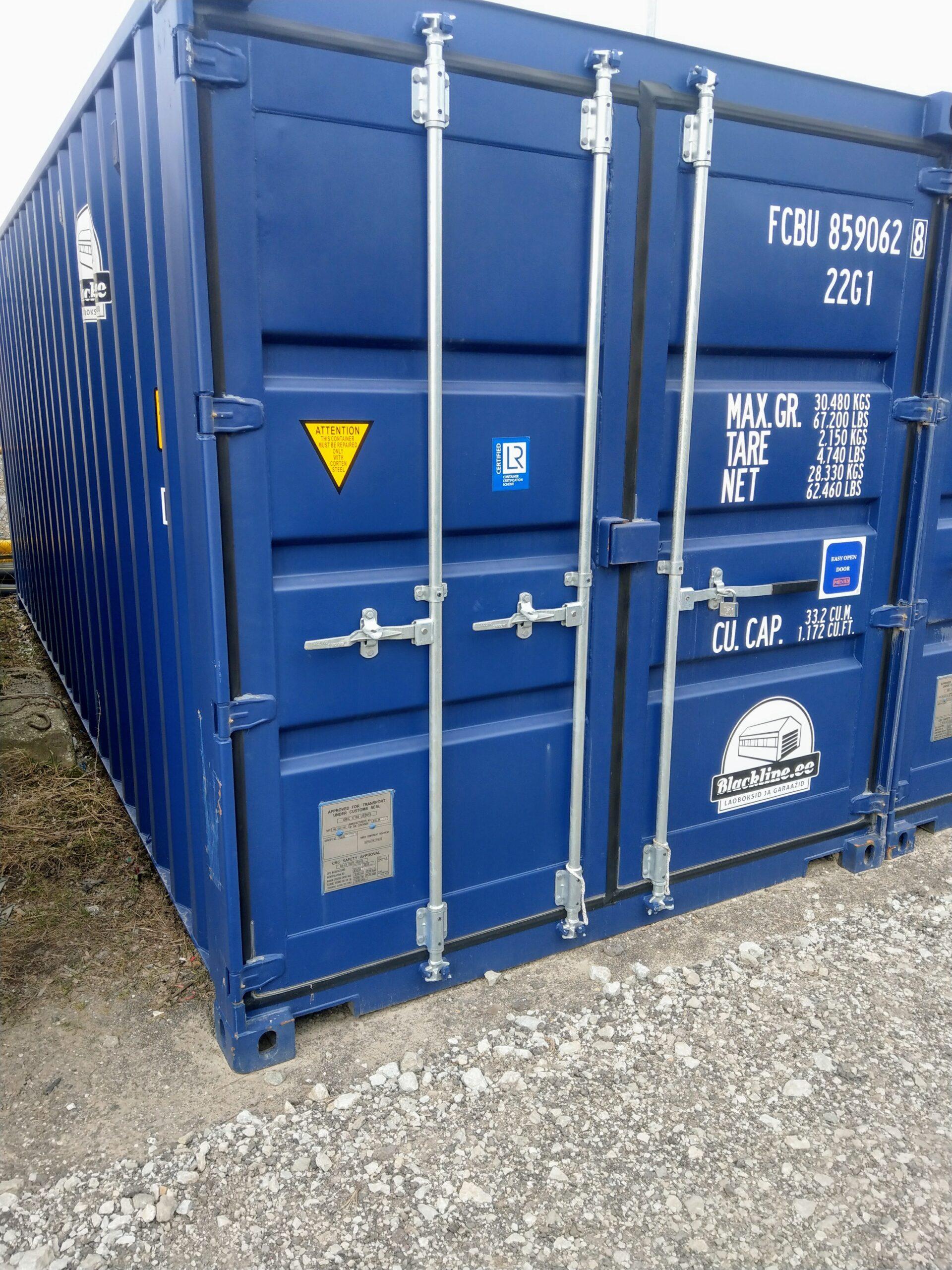 Uus konteinerladu NR 4 – FCBU8590628