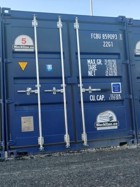 Uus konteinerladu NR 5 – FCBU8590931