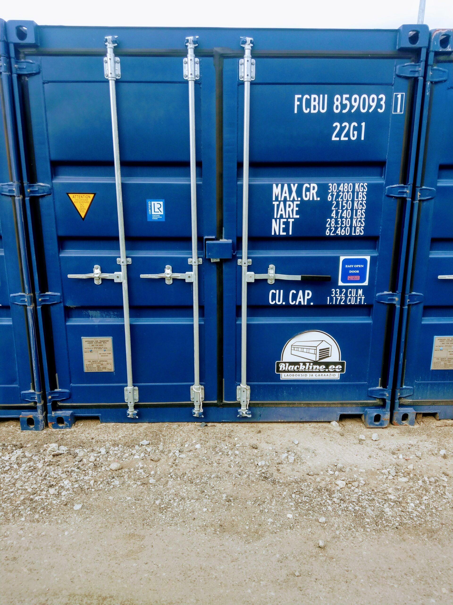 Uus konteinerladu nr 5 – FCBU8590933