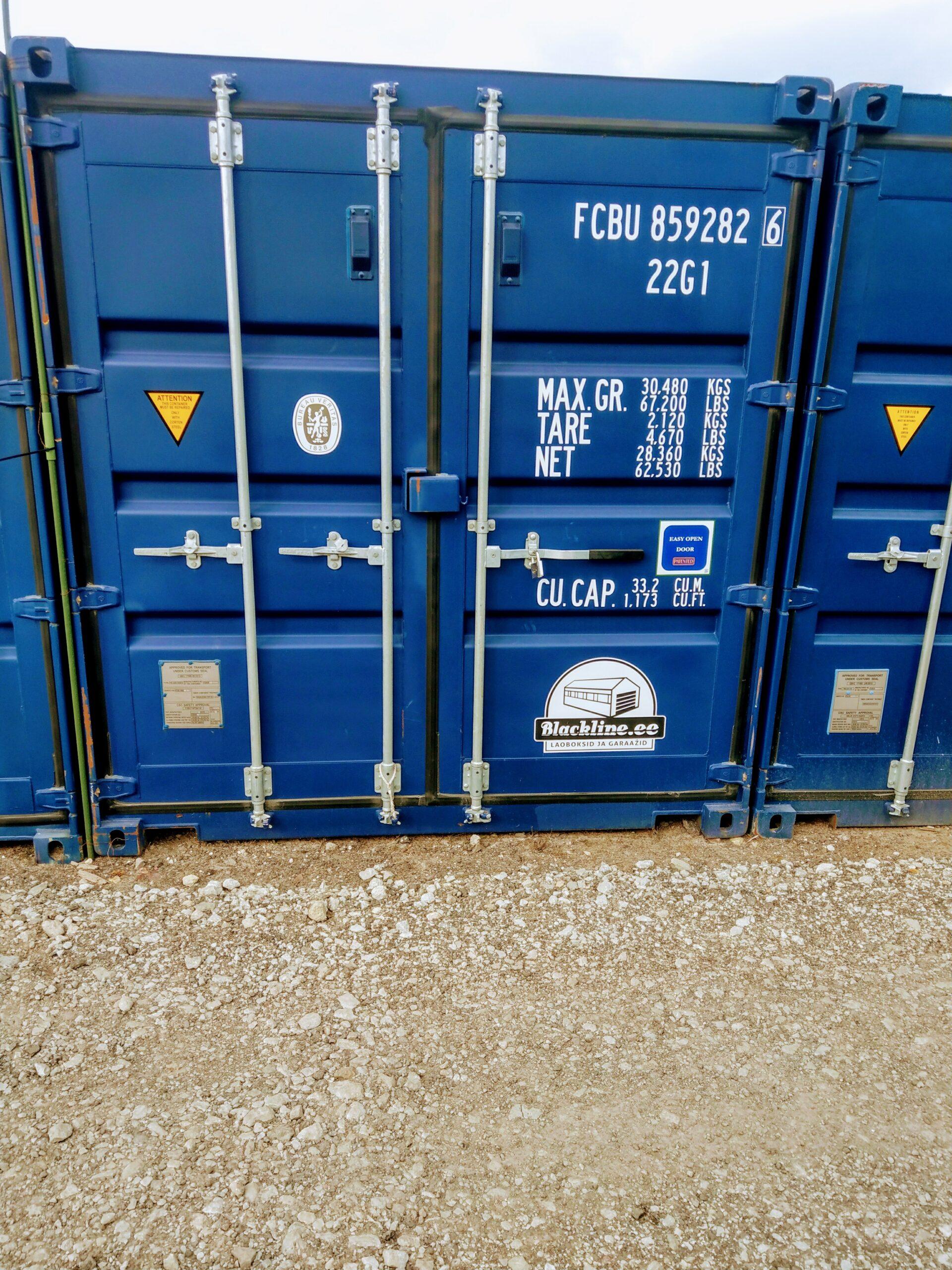 Uus konteinerladu NR 2 – FCBU8592826
