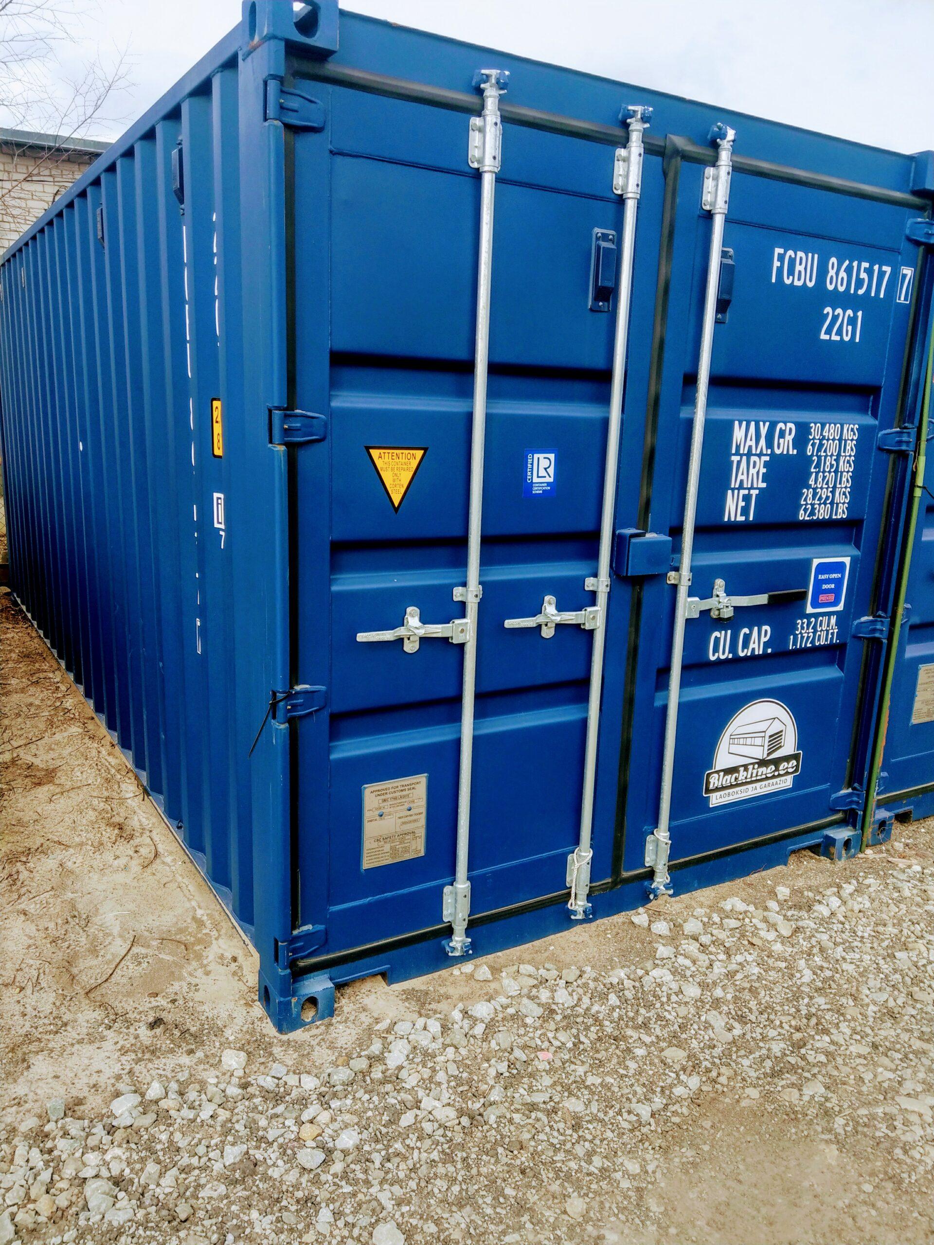 Uus konteinerladu NR 1 – FCBU8615177