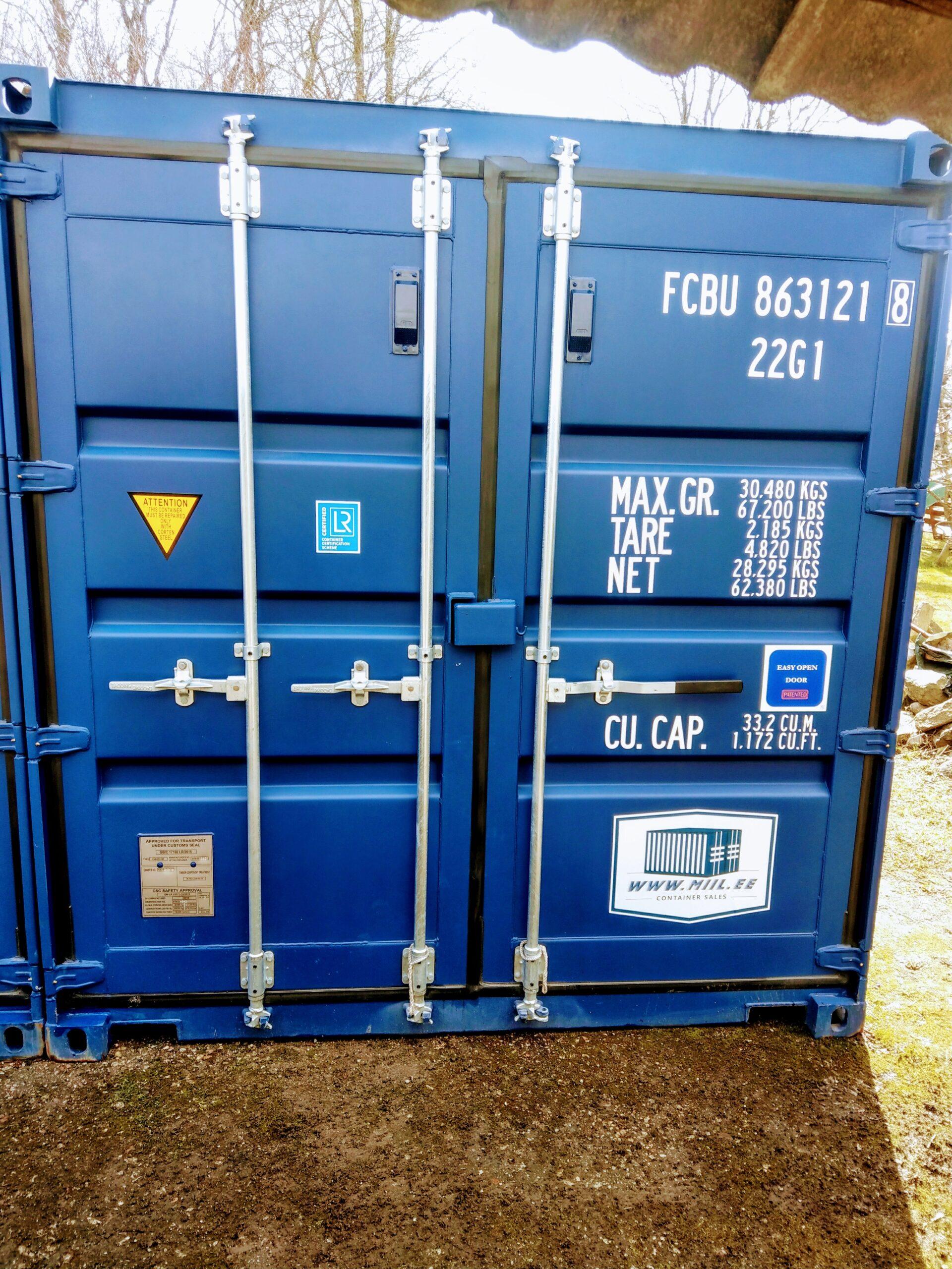 Uus konteinerladu NR 1 – FCBU8631218