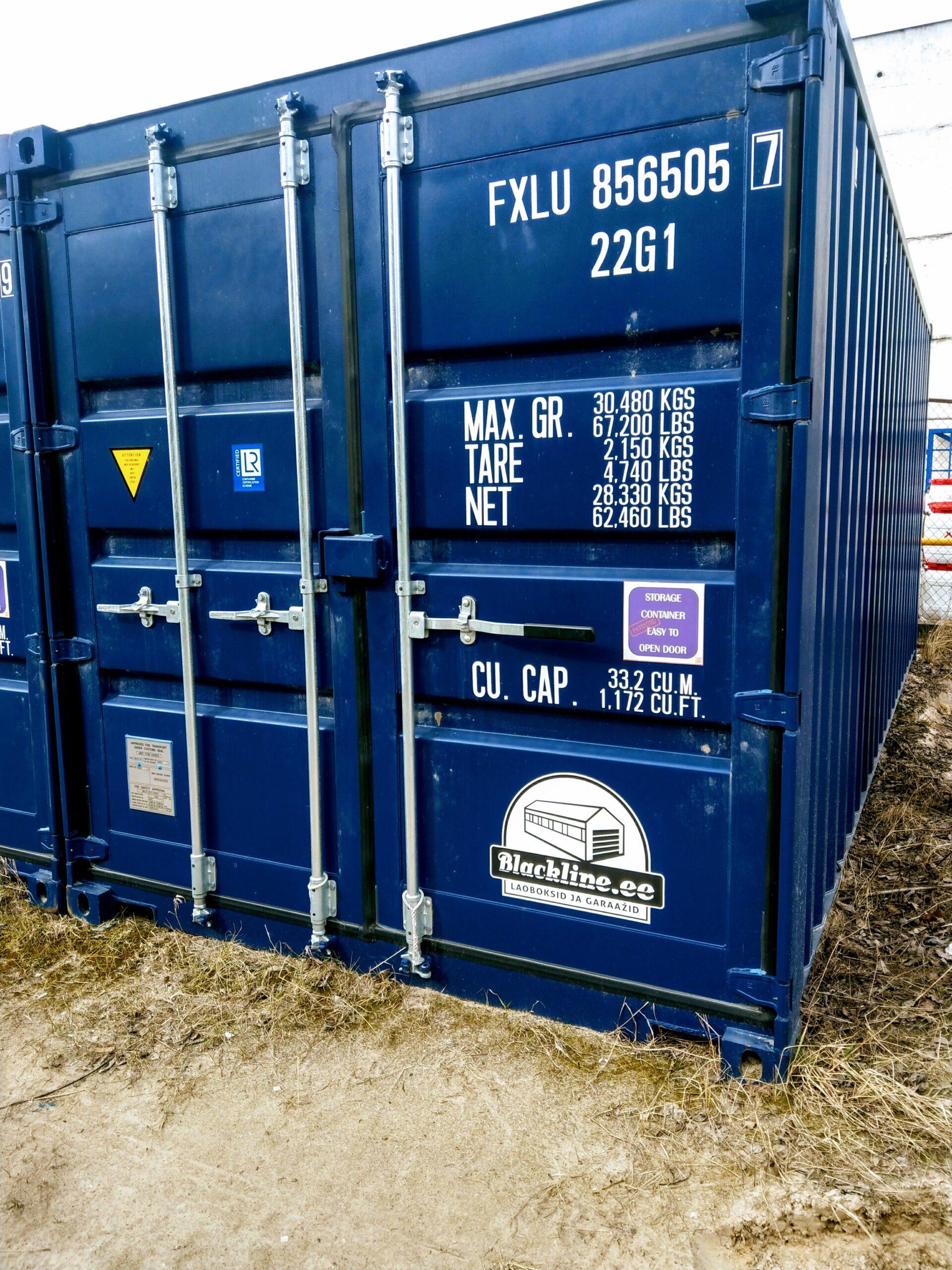 Uus konteinerladu NR 11 – FXLU8565057