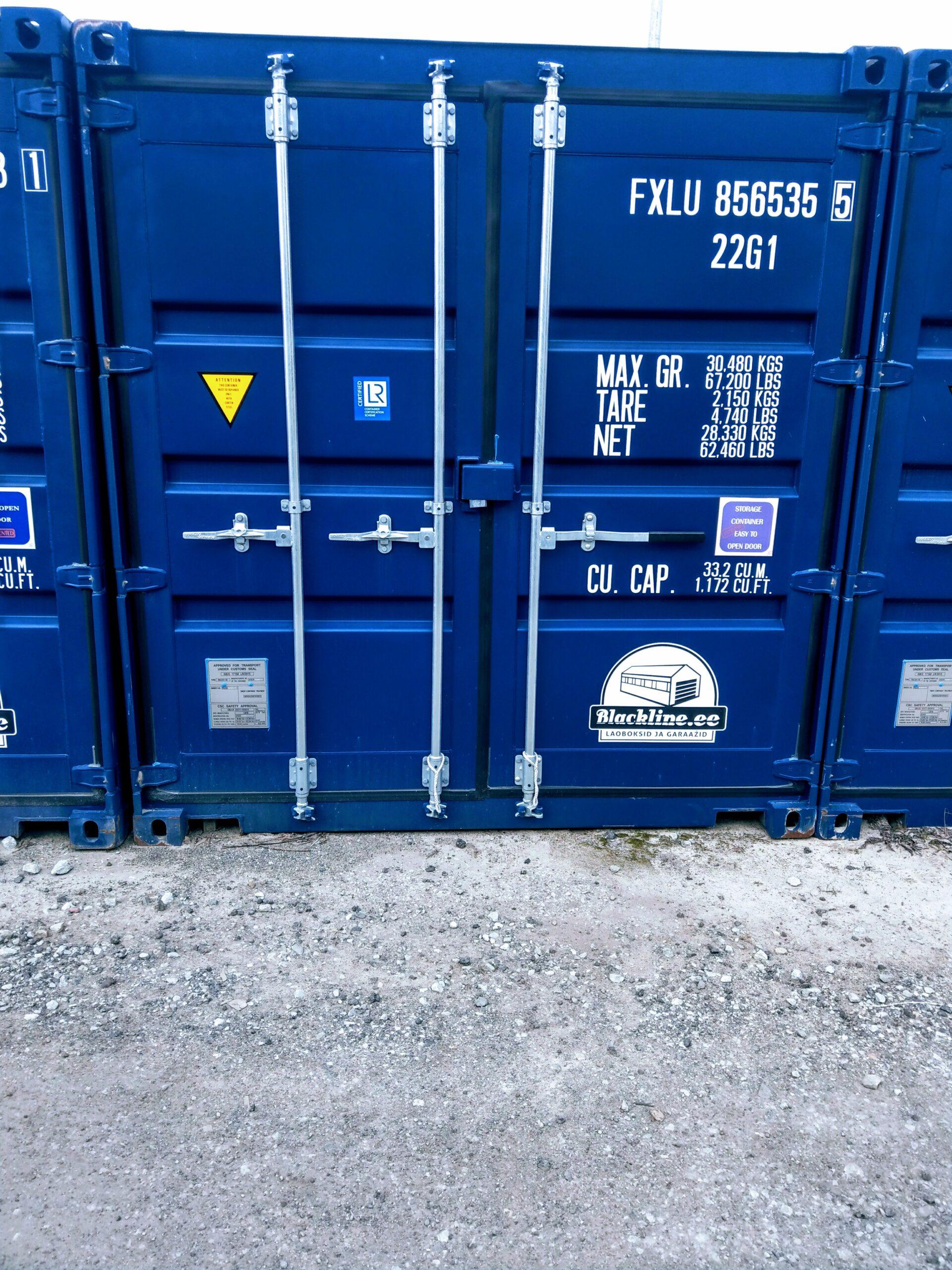 Uus konteinerladu NR 6 – FXLU8565355