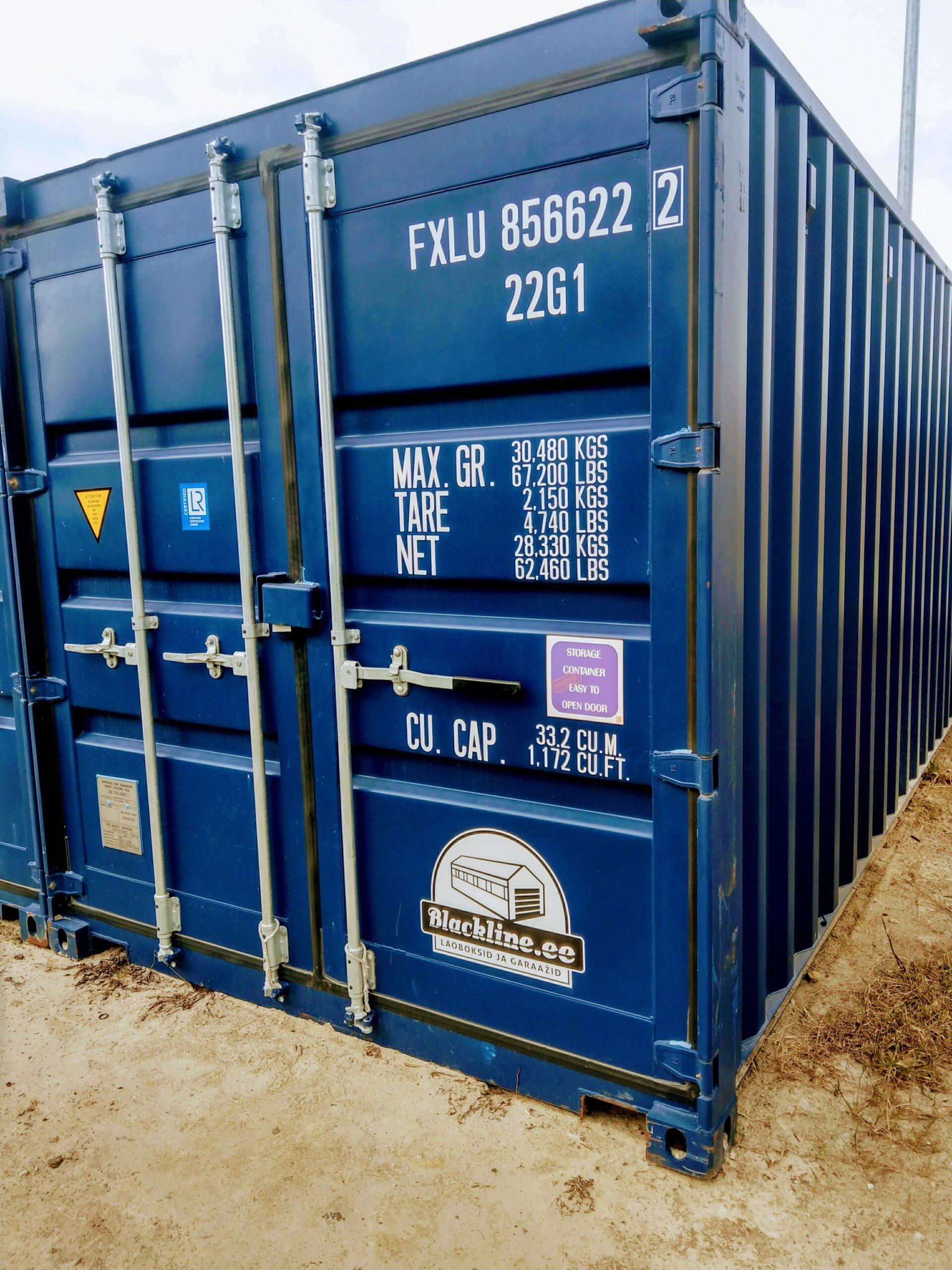 Uus konteinerladu NR 7 – FXLU8566222