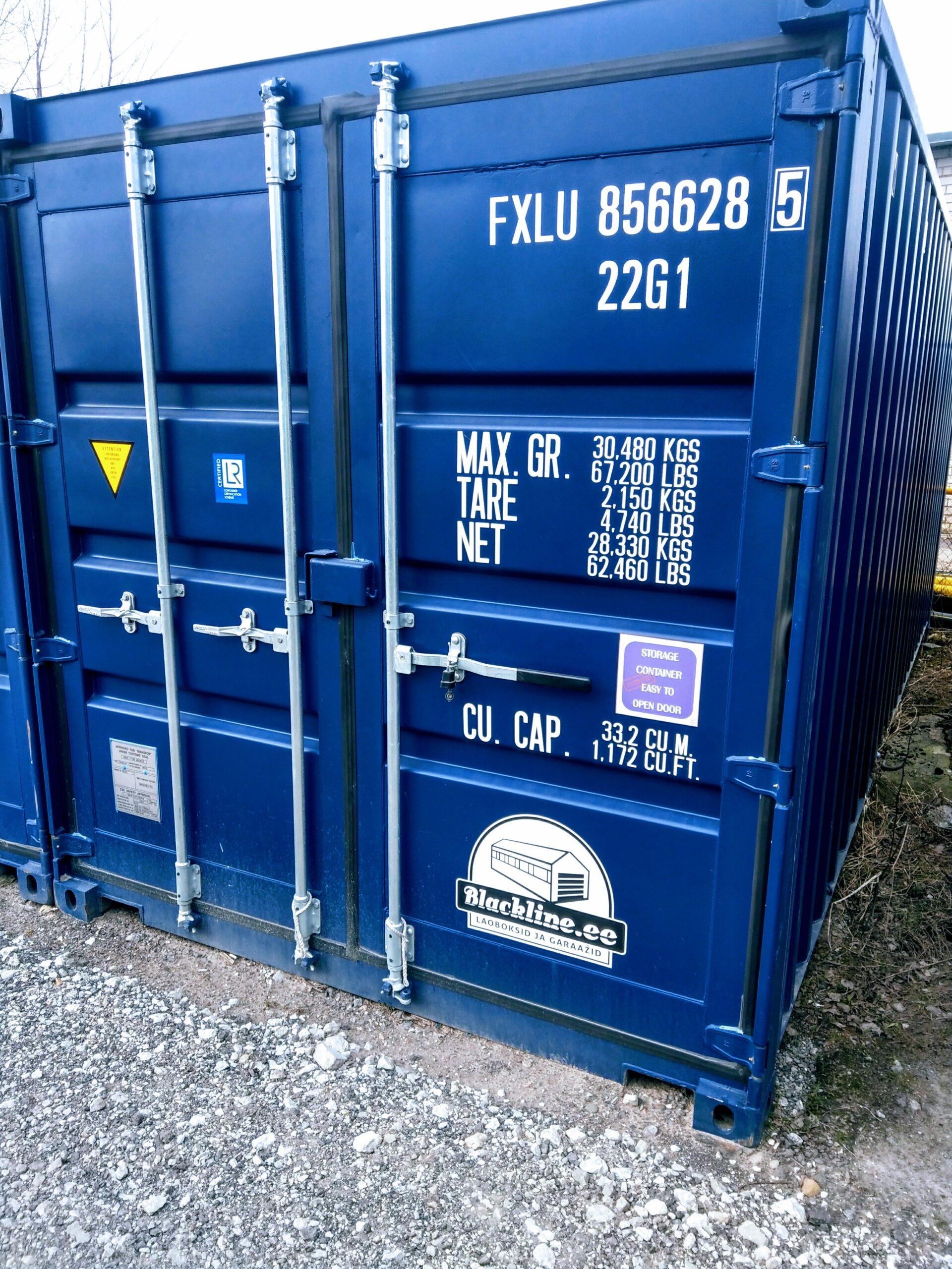 Uus konteinerladu NR 3 – FXLU8566285