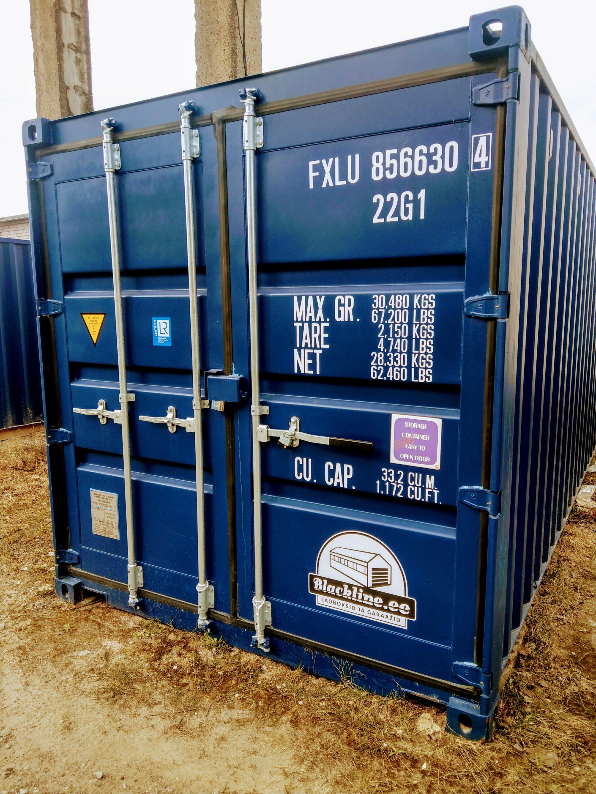 Uus konteinerladu NR 8 – FXLU8566304
