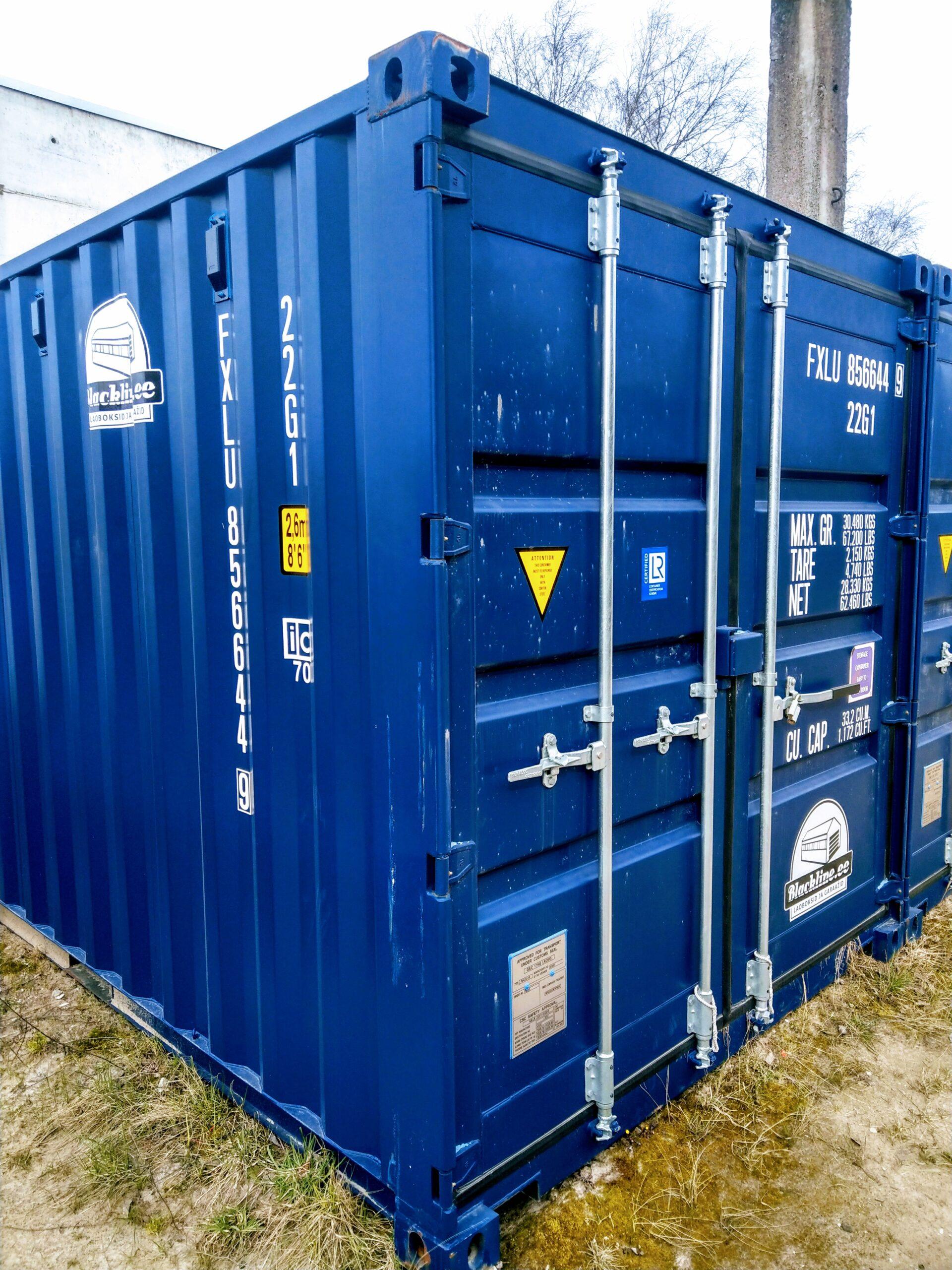 Uus konteinerladu NR 10 – FXLU8566449