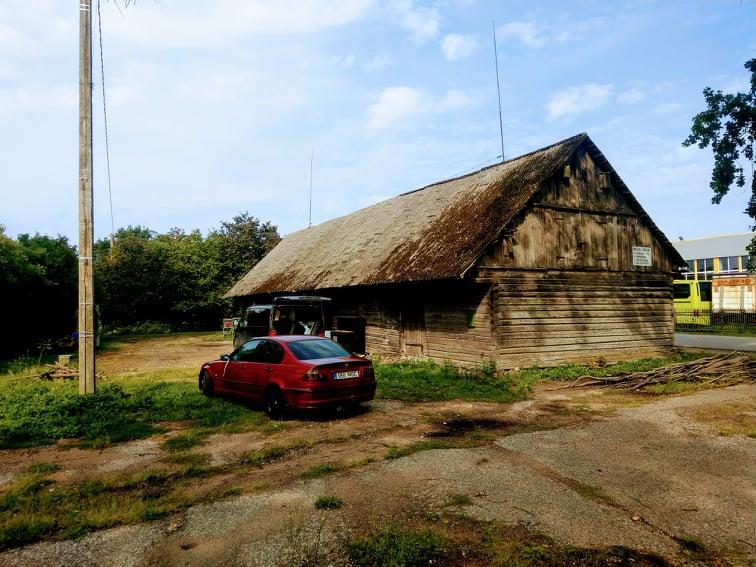 Pärnu maakond, Sauga: laohoone