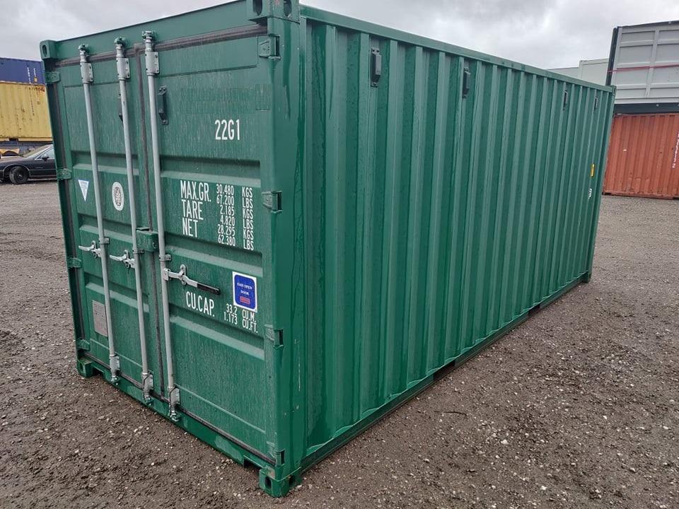 Uus 6m / 20DC konteiner heleroheline