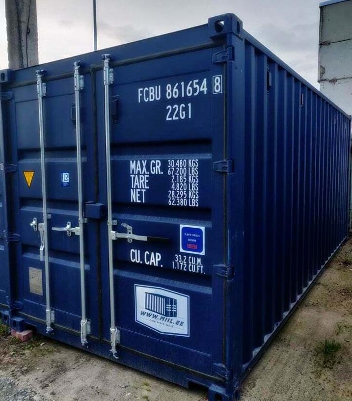 Uus konteinerladu nr 9 – FCBU8616548