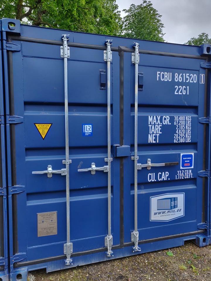 Uus konteinerladu nr.6 FCBU8615201
