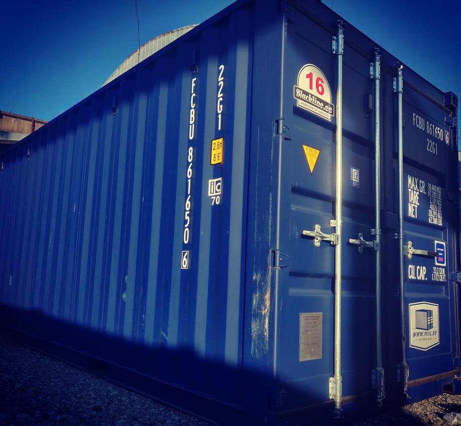 Uus konteinerladu NR 16 FCBU8616506