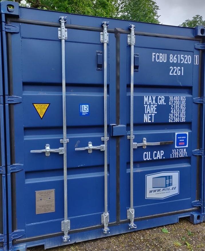 Uus konteinerladu NR 6 FCBU8615201