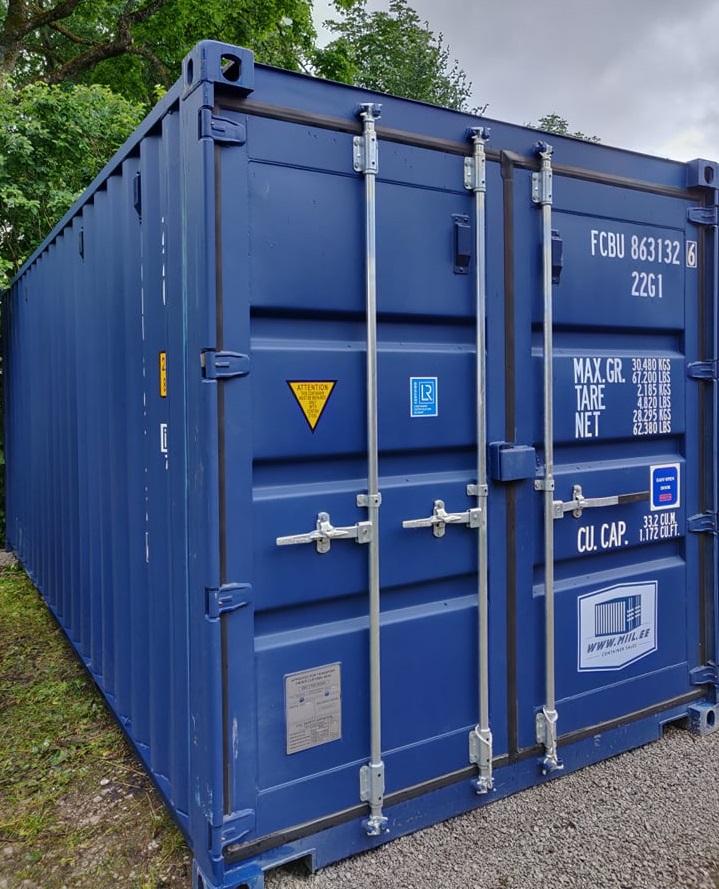 Uus konteinerladu NR 7 FCBU8631326