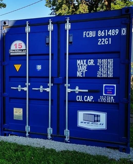 Uus konteinerladu NR 15 FCBU8614890