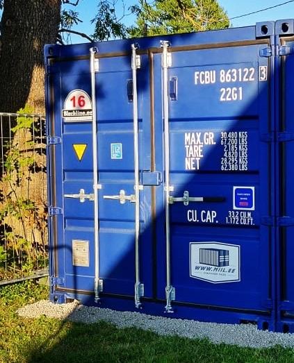 Uus konteinerladu NR 16 FCBU8631223