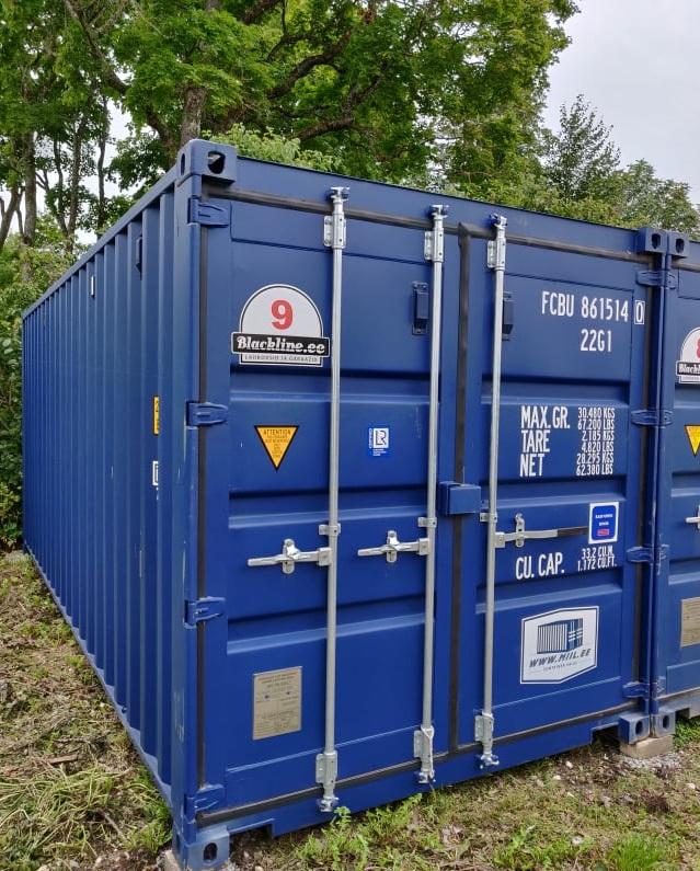 Uus konteinerladu NR 9 FCBU8615140