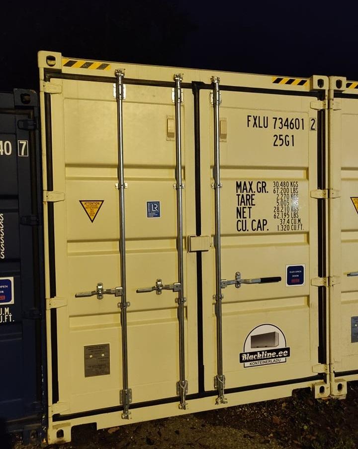Uus konteinerladu NR 12 kõrge variant — FXLU7346012