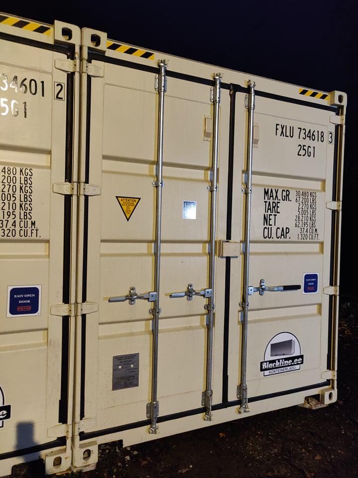 Uus konteinerladu NR 11 kõrge variant — FXLU7346183