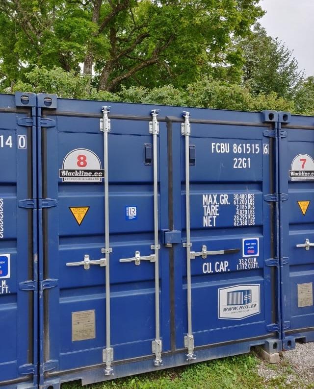 Uus konteinerladu NR 8 FCBU8615156