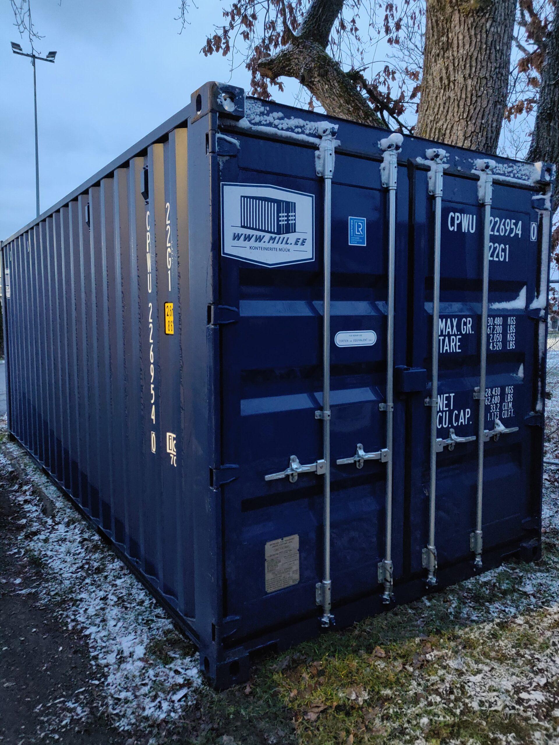 Uus konteinerladu NR 18 — CPWU2269540