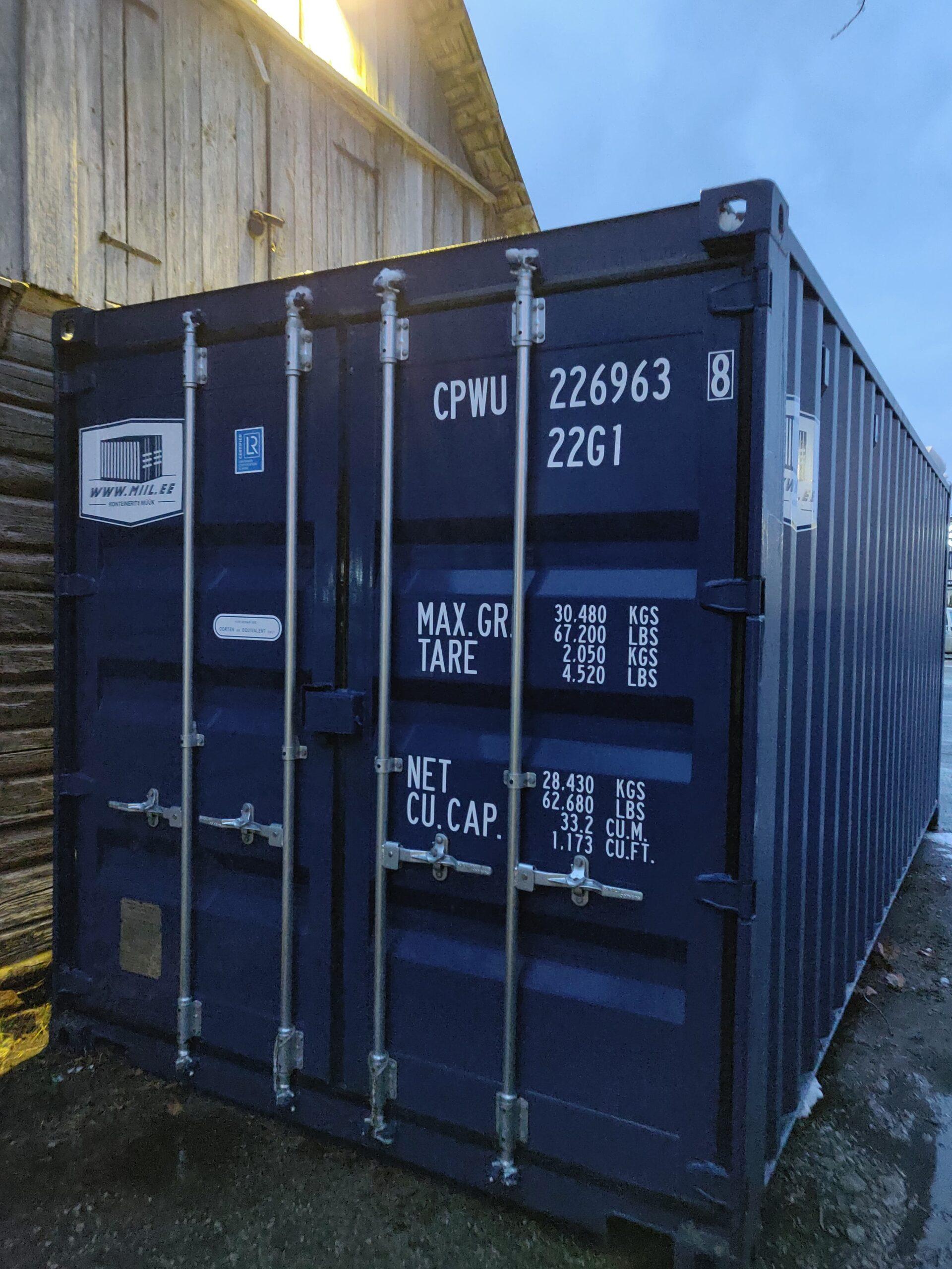Uus konteinerladu NR 19 — CPWU2269638