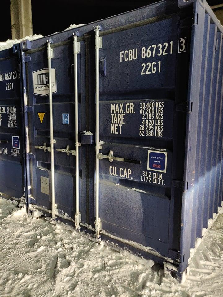 Uus konteinerladu NR 17 – FCBU8673213