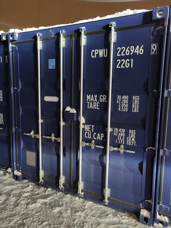 Uus konteinerladu NR 19 – CPWU2269469