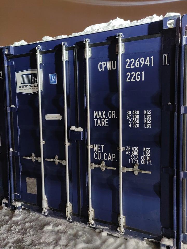 Uus konteinerladu nr 18 – CPWU22649411