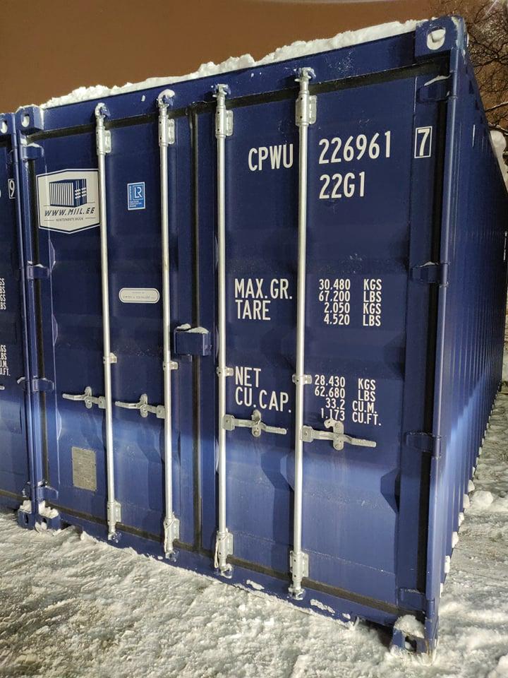 Uus konteinerladu NR 20 – CPWU2269617