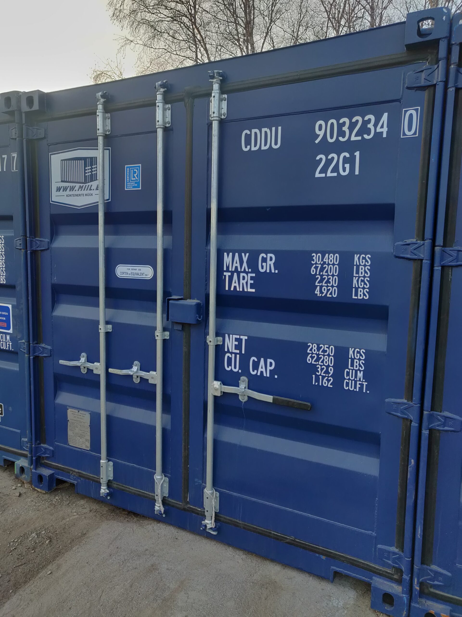 Uus konteinerladu NR 23 – CDDU9032340