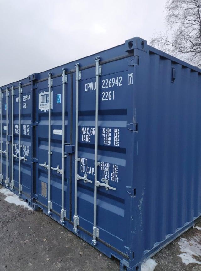 Uus konteinerladu NR 22 – CPWU2269427