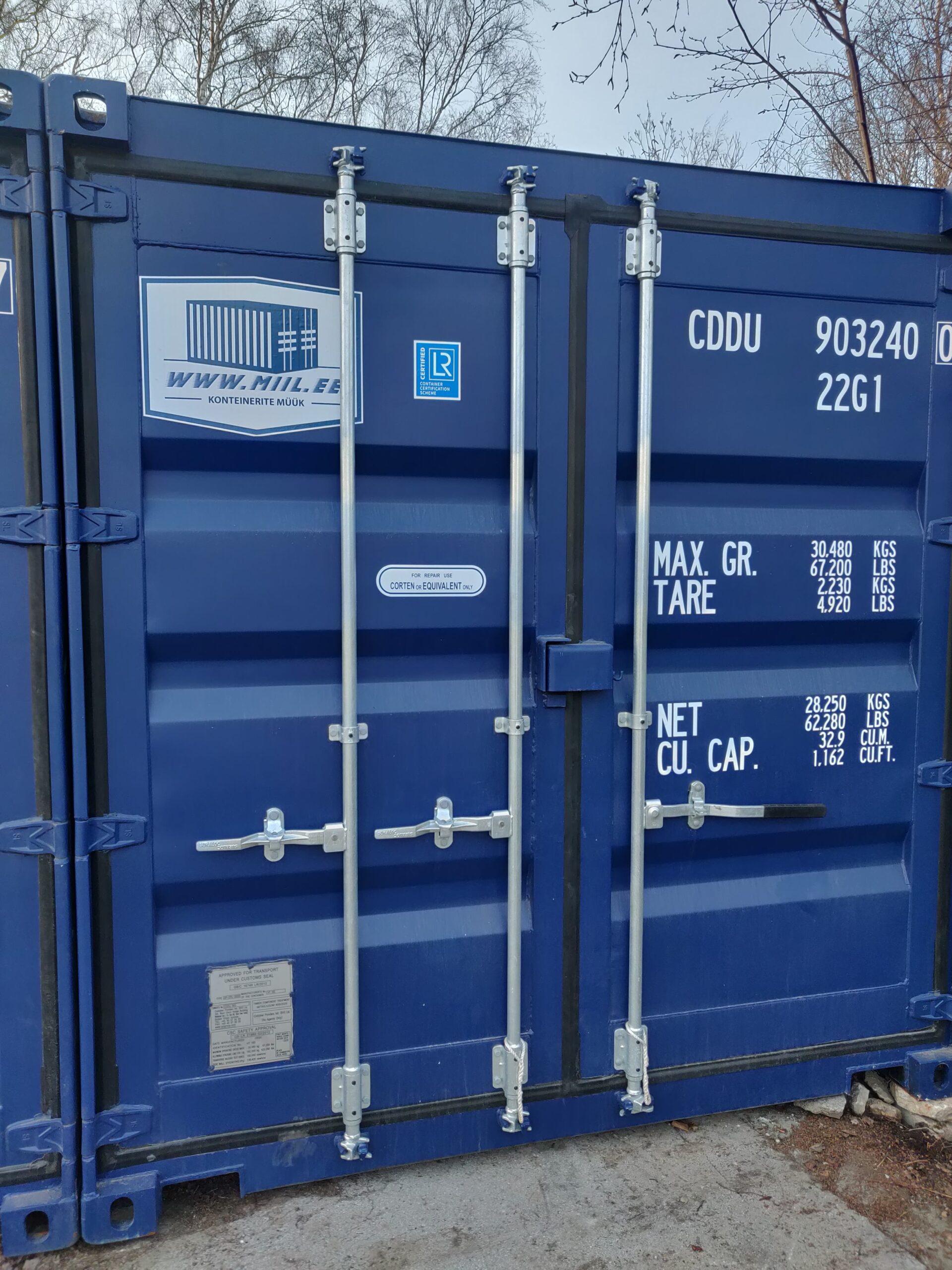 Uus konteinerladu NR 25 – CDDU9032400