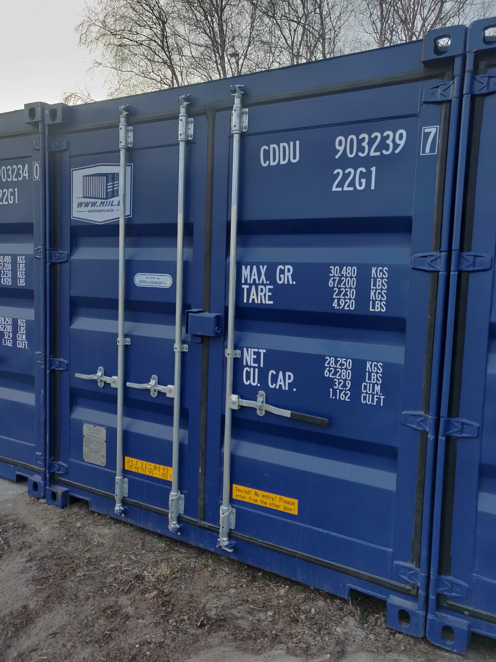 Uus konteinerladu NR 24 – CDDU9032397