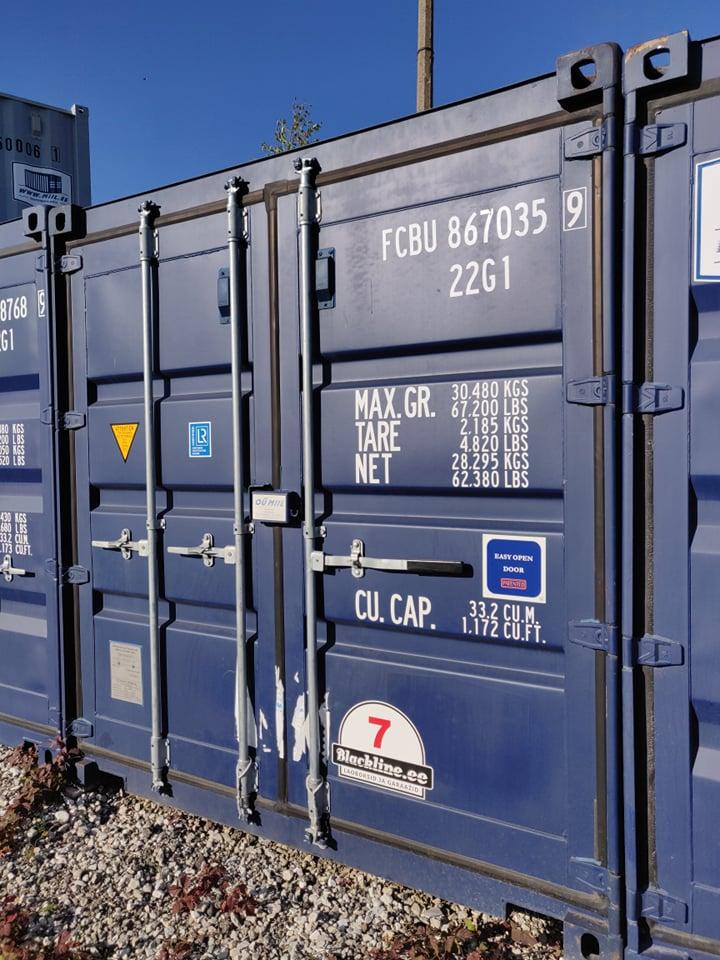 Uus konteinerladu NR 7