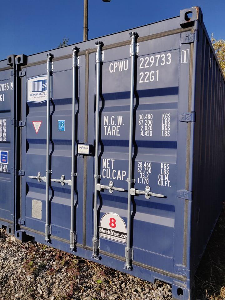 Uus konteinerladu NR 8