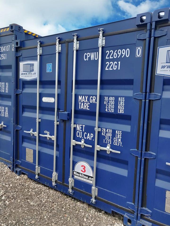 Uus konteinerladu NR 3 – CPWU2269900