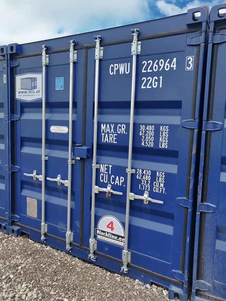 Uus konteinerladu NR 4 – CPWU2269643