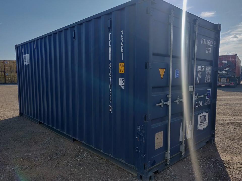 Uus konteinerladu NR 7 – FCBU8670359