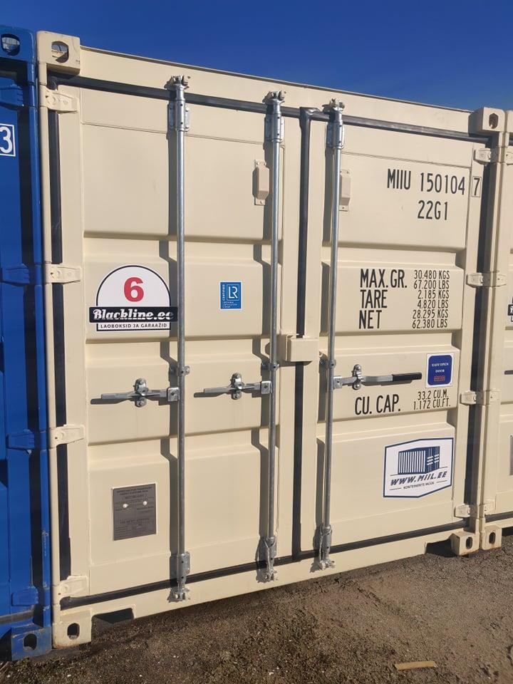 Uus konteinerladu NR 6 – MIIU1501047