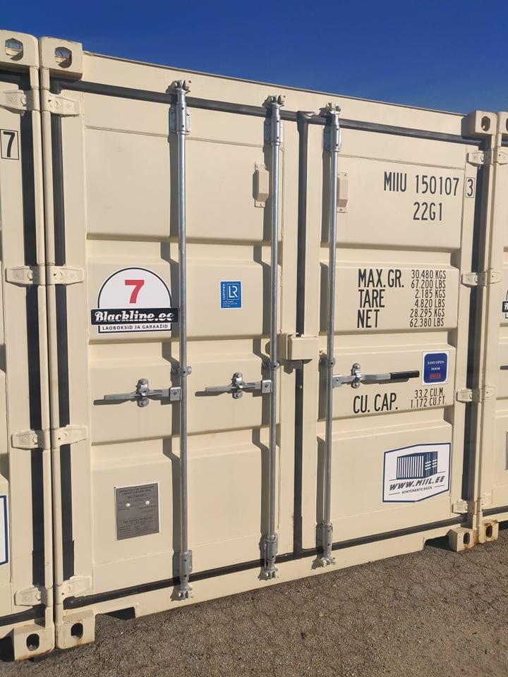Uus konteinerladu NR 7 – MIIU1501073