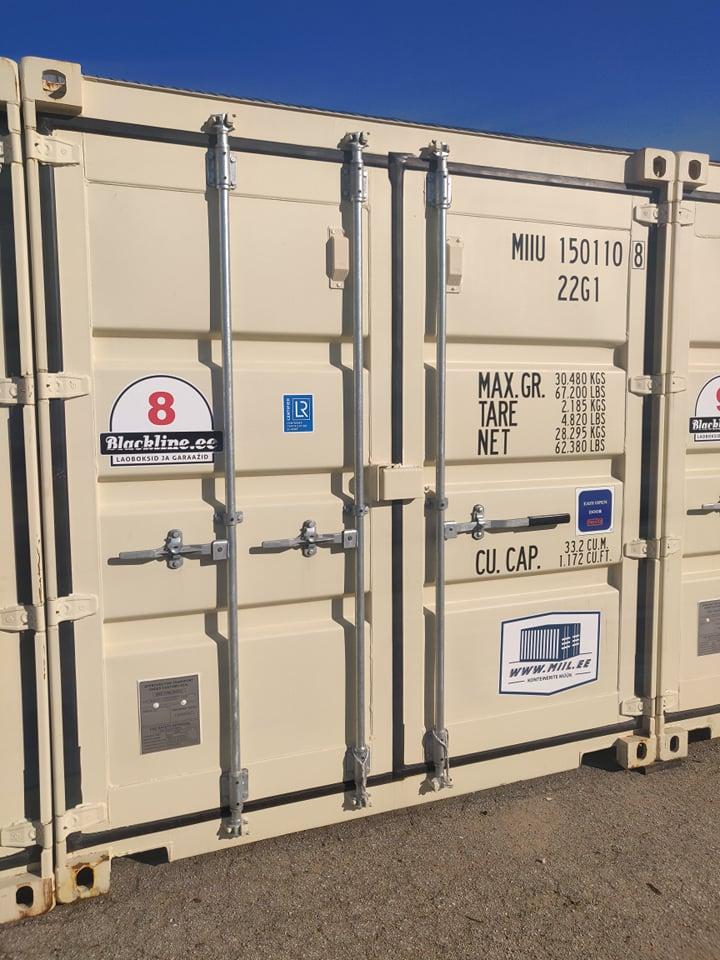 Uus konteinerladu NR 8 – MIIU1501108