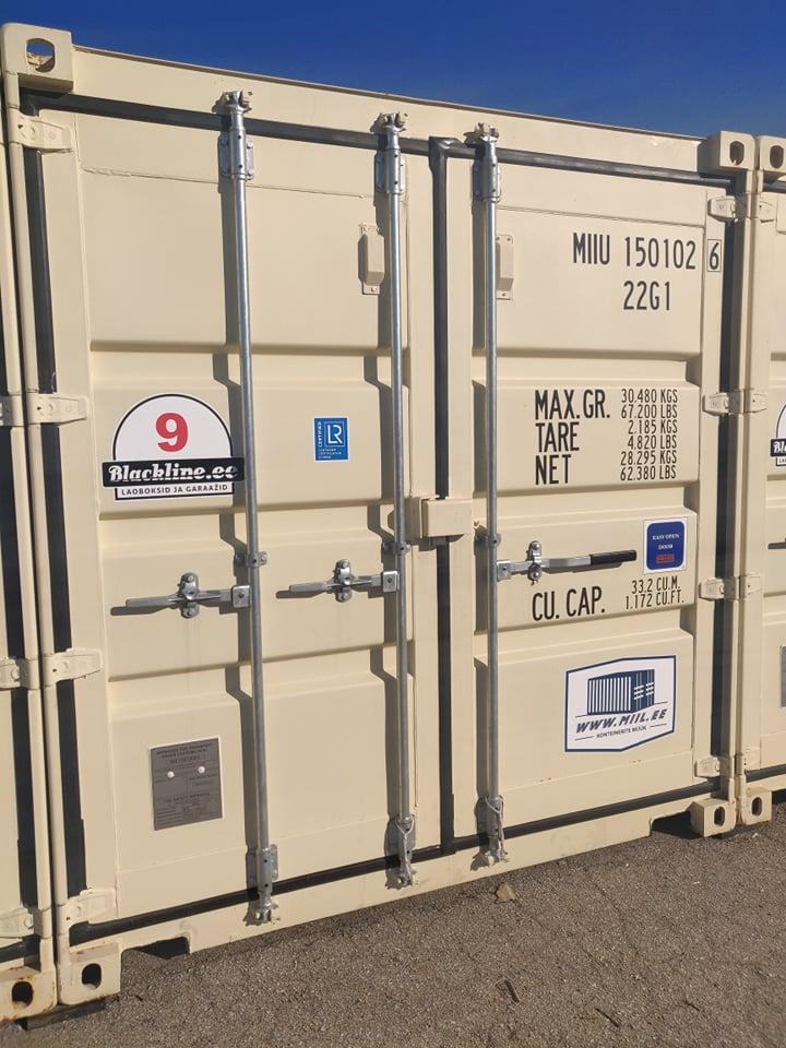 Uus konteinerladu NR 9 – MIIU1501026