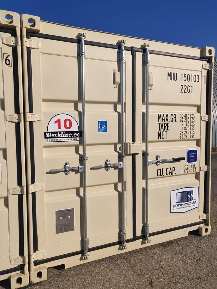 Uus konteinerladu NR 10 – MIIU1501031